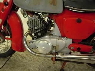 1965 Honda CA95 Benly 150 Touring Baby Dream US Import for Restoration