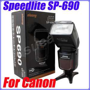 OLOONG Speedlight SP 690 Flash Unit for Canon Camera