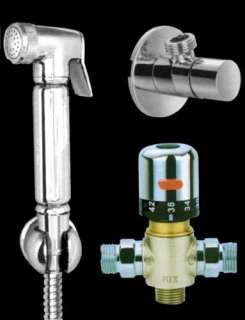new luxury bidet shower thermostatic douche kit shattaf wudhu water
