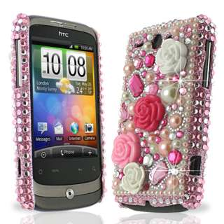 Princess Pink Bling Diamante Case for HTC Wildfire