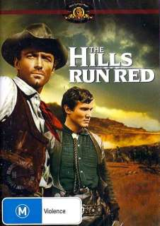 THE HILLS RUN RED = NEW+SEALED PAL DVD = Thomas Hunter