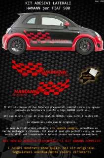 FIAT 500 HAMANN SPORTIVO ★ABARTH TUNING sticker DECAL