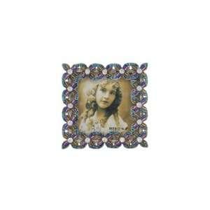 Jewelry Frame   Blue/Purple Jewel