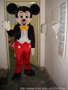 Mickey Mouse Mascot Costume Halloween Party Outfit