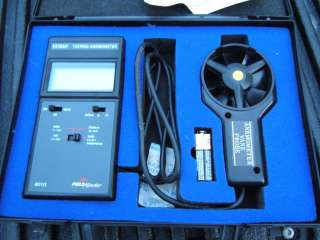 Extech Model 451112 Field Master Thermo   Anemometer