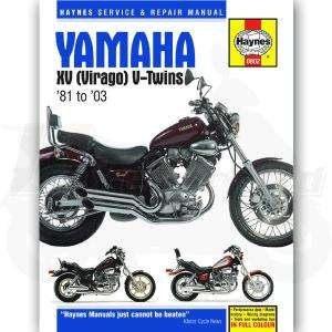 Haynes Manual for Yamaha XV535DX XV 535 DX 535cc 98 03