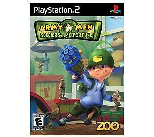 Army Men: Soldiers of Misfortune   PS2   QVC