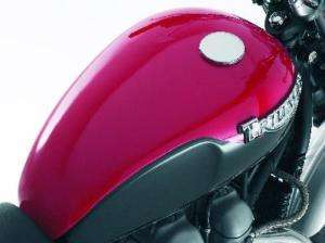 Triumph Bonneville Tank Cover Kit Red 60% OFF RRP