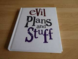 Evil Plans & Stuff Note Book School Planner Journal 5029341063708