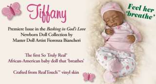 First ever 'breathing' So Truly Real® African American baby doll