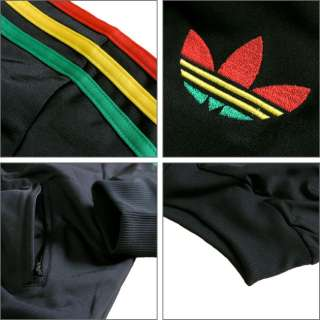 ADIDAS ORIGINALS FIREBIRD 1 TTJACKE TRAININGSJACKE RASTA COLOR