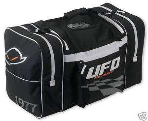UFO MOTOCROSS ENDURO BMX KIT BAG BLACK/WHITE 2238W