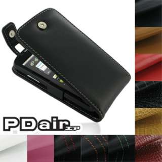 Leather Case for ZTE Skate (Flip Top T41 W/Clip) by PDair