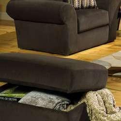 Jackson Furniture Mesa Storage Ottoman in Chocolate