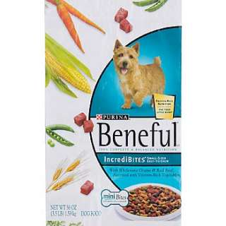 Home Dog Food Beneful IncrediBites Adult Dog Food