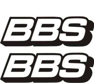 PEGATINAS/STICKERS/ COCHE MOTO TUNING LLANTAS BBS