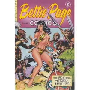 Betty Page Comics #1 Dave & RICH, Jamie S.   Editors