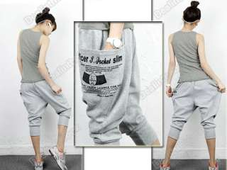 Korea Fashion Leisure Harem Pants HOT Trousers Shorts