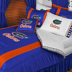 nEw NCAA UF FLORIDA GATORS Full Queen Bed COMFORTER SET