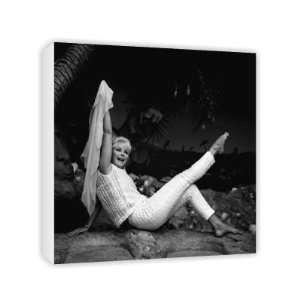 Elke Sommer   Canvas   Medium   30x45cm: Home & Kitchen