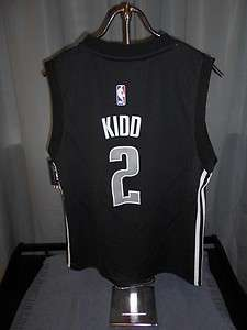 NEW IRREGULAR Jason KIDD #2 Dallas MAVERICKS YOUTH Large L Adidas