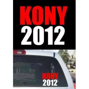 Kony 2012 Window Decal: Everything Else