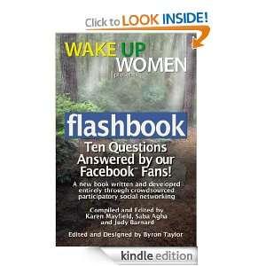Flashbook (Wake Up Women): Karen Mayfield, Saba Agha, Byron Taylor