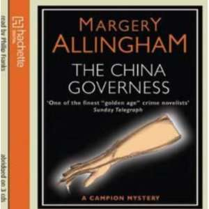 China Governess CD (9781405507196): Margery Allingham: Books