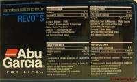 ABU GARCIA AMBASSAD REVO S RIGHT HAND BAITCAST REEL