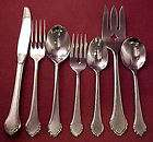 Oneida Wm A Rogers SUMMER MIST Autumn Glow Stainless Silverware