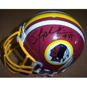 Stephen Davis Autographed / Signed Redskins Mini Helmet