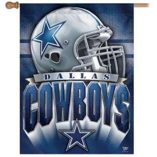 Dallas Cowboys Helmet Vertical Flag 27x37 Banner