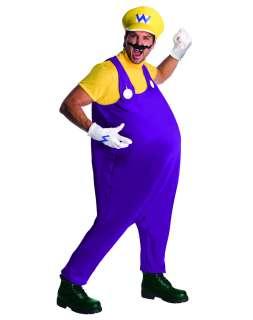 Super Mario Bros. Wario Adult Mens Costume