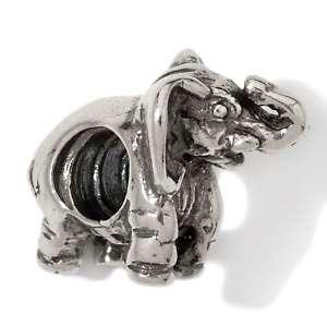 Bacio Sterling Silver Elephant Charm