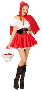 Adult Little Red Riding Hood Costume   Sexy Halloween Costumes