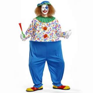 Halloween Costumes Crazy Clown Adult Costume