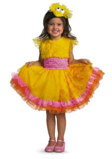 Sesame Street Frilly Big Bird Toddler/Child Costume for Halloween