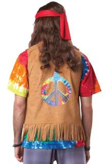 Hippie Adult Costume for Halloween   Pure Costumes