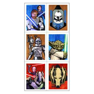 Star Wars The Clone Wars Stickers (4 count)     1636373