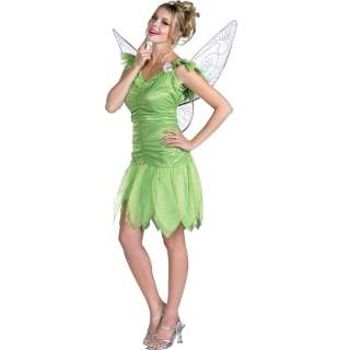 Tinker Bell Adult Costume   Includes Dress and wings. Shoes and wand