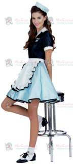 Buy Car Hop Girl Adult Costume For Halloween And Other Occasions