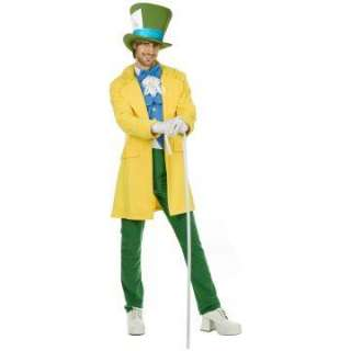 Mad Hatter Adult Costume   Includes Jacket, Vest, Tie, Jabot, Pants