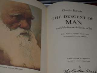 Charles Darwin LTD Edition DESCENT OF MAN Orignal Art