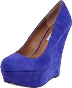 Womens Shoes NIB Steve Madden PAMMYY Platform Wedge Pump Heels Suede