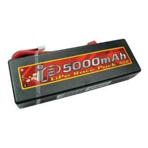 IB5000mAh 40C 7.4V LiPo Hard Pack, Deans Connector
