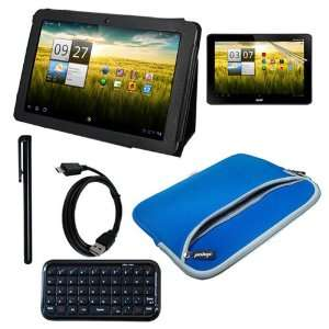 Tab A200 10.1 Inch Smart Tablet   Include Black Premium Leather Case