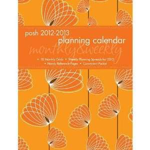 Posh Spiro Fleur 2013 Monthly/Weekly Planner