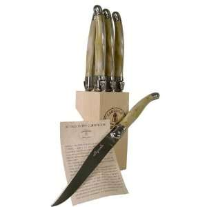 Laguiole Block   6 Knives (Acrylic)
