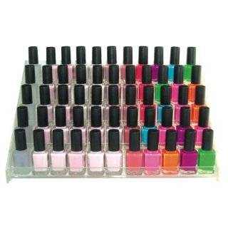 Nail Polish Wall Rack Display, (FUJI BRAND) Fits up to 96 Bottles