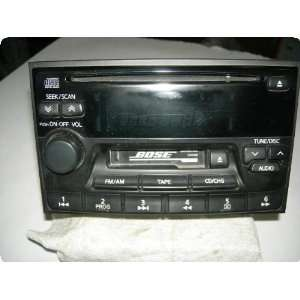 Radio  INFINITI Q45 00 receiver, AM FM stereo cassette w/CD player